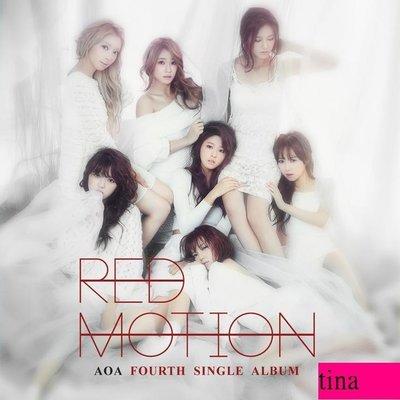 AOA Single Album Vol. 4 - Red Motion韓國原版第四張單曲全新-雪炫智珉惠晶澯美酉奈珉娥