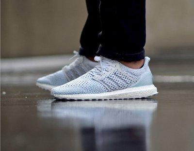 Adidas Parley Ultra Boost Clima 白藍 編織 馬牌 慢跑鞋 男鞋 歐洲公司貨 BB7076