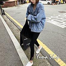 ☆YUNA SHOP☆外單【E8315】街頭風可拆帽子連帽牛仔外套寬鬆休閒上衣罩衫/兩色☆特價
