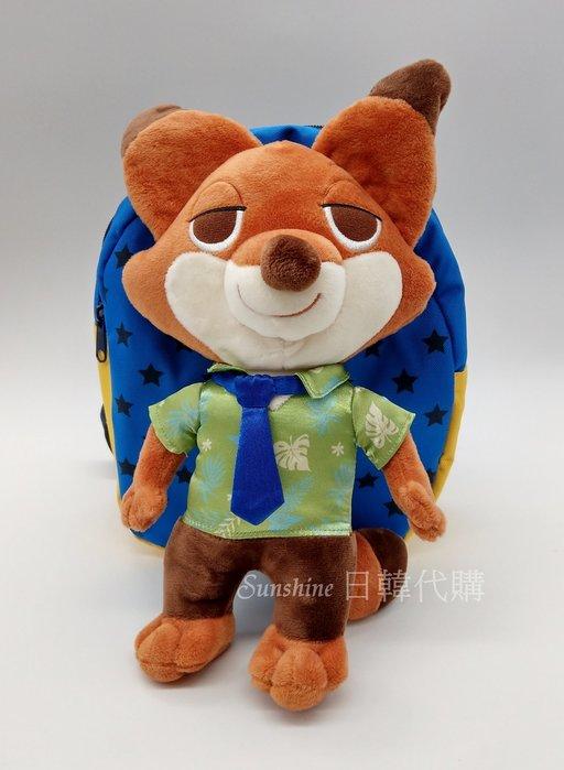 現貨 韓國正品 WingHouse 迪士尼 胡尼克 動物方城市 防走失包 兒童背包 Wing House