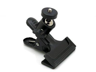《信捷戶外》【F33】多功能雲台夾 萬用夾 / 萬用支架 適用於相機 GPS導航 行車記錄器.....