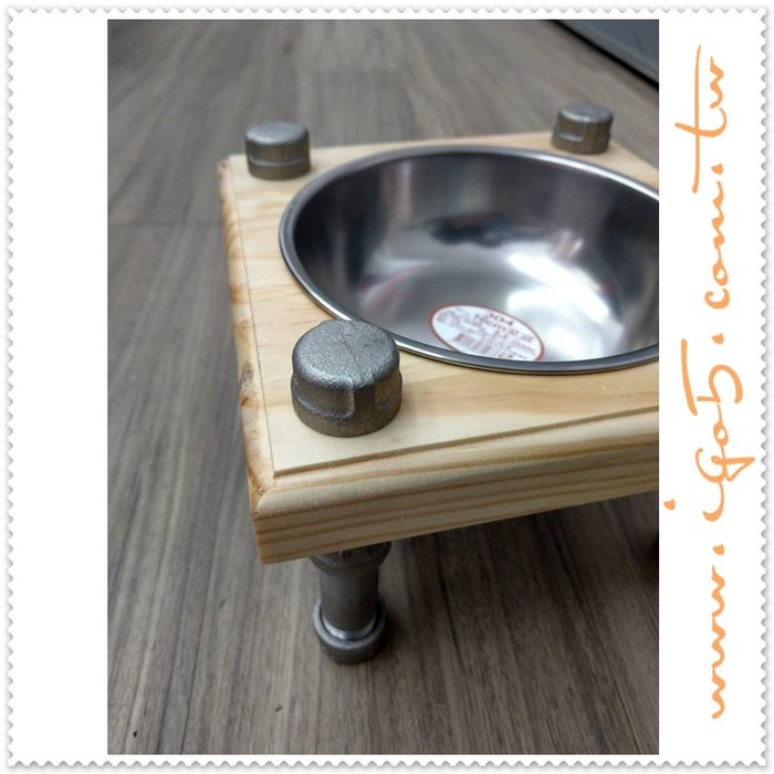 [ 鈦鴻興業 ] 工業風全白鐵毛小孩吃飯台 材料包 高腳 QAVC572 LOFT DIY