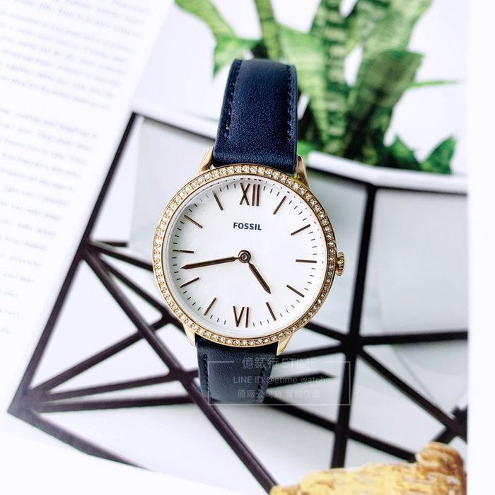FOSSIL FS5569 晶鑽 簡約 女錶 原廠公司貨 美式休閒 淑女