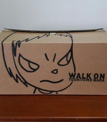 奈良美智親筆簽名 WALK ON CLOCK 限量置時計