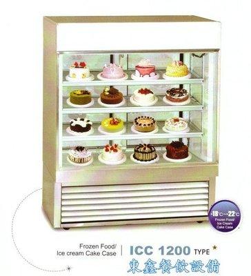 ~~東鑫餐飲設備~~ICC 大型4角玻璃展示櫃 / 蛋糕冷藏展示櫥 / 營業用蛋糕冷藏展示櫃