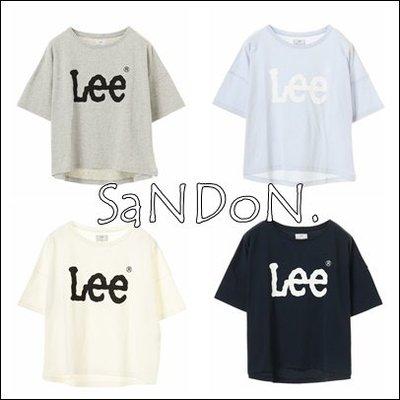 山東:【特別限量】獨家 LEE×earth LOGO Tシャツ 清爽配色短TEE LF JEANASIS 180412