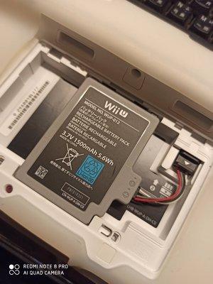 徵1顆壞的 wiiu wup-013電池 大的