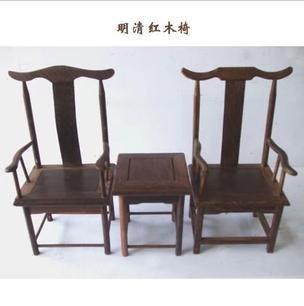 INPHIC-明清家俱 微縮紅木椅;官帽椅; 別致珍藏小擺飾