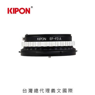 Kipon EOS-FZ with aperture