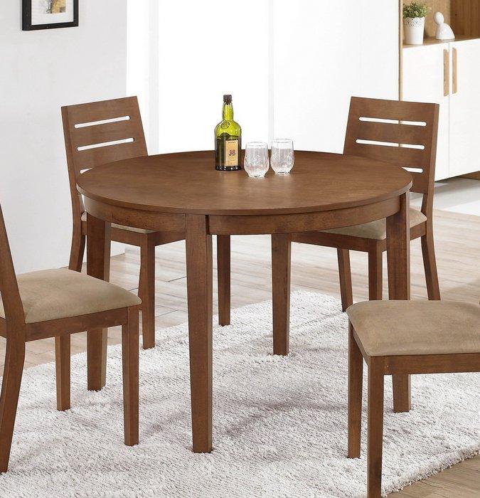 【NKD傢俱裝潢館 】馬丁圓桌(不含椅)   促銷價 $5600元 CM 945-2 $