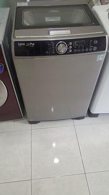 東元16公斤變頻洗衣機7成新4900