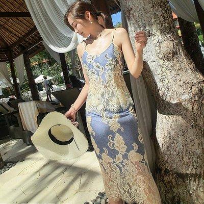 《巴黎拜金女》時尚兩件套吊帶半身裙網紅兩件套裝