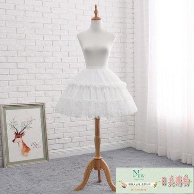 裙撐 cosplay日常魚骨裙撐可調節...