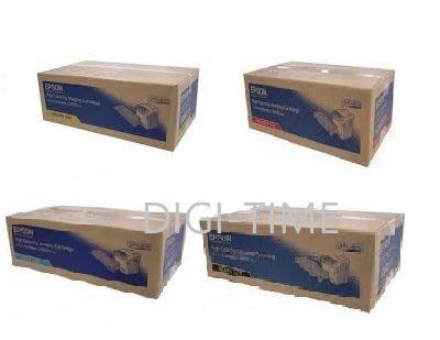 【四件裝】 原廠碳粉匣 EPSON S051124/1125/1126/1127 高容量 適C3800N C3800DN
