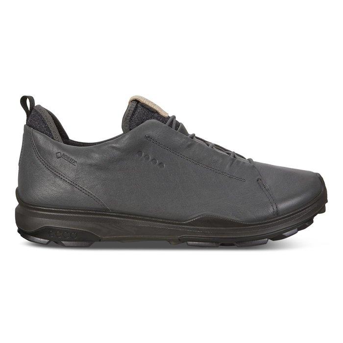 ┌喻蜂高爾夫┐ECCO 男高爾夫球鞋 灰/黑 休閒無釘款 現貨41~43號