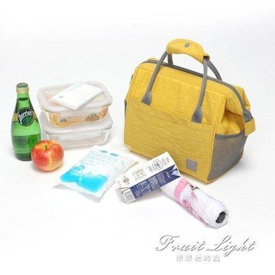 ☜男神閣☞保冷袋 手提帆布飯盒袋保溫包鋁箔加厚便當袋小布包學生帶飯午餐