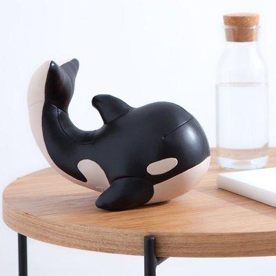 Zuny 虎鯨造型書檔 Mumu ,殺人鯨書擋鯨魚,生日禮物 家居擺飾 櫥窗展示,idea-dozen 創意達人