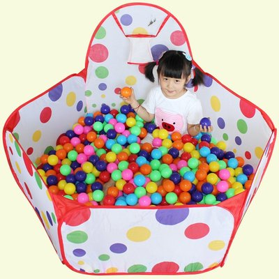 遊戲帳棚 兒童帳篷送海洋球遊戲屋室內嬰兒玩具波波池海洋球池折疊圍欄寶寶帳篷玩具