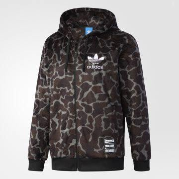 Look 鹿客 adidas Originals   男連帽外套CD1716