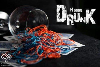 【意凡魔術小舖】 Drunk by Hondo ~ 紅門宴~ 現貨撲克牌魔術DVD魔術教學魔術魂