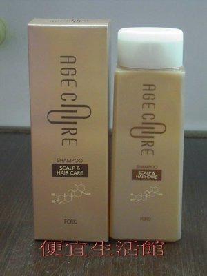 便宜生活館【洗髮精】日本 FORD AGE CARE  SH-S洗髮精 提供舒壓.修護與重整