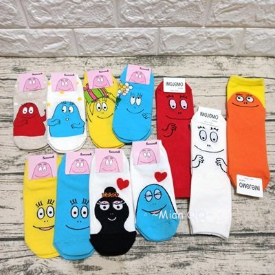 。~ Mian QQ ~。 泡泡先生 20-26cm 短襪 正韓貨 ㊣ 韓襪 韓國襪子 W
