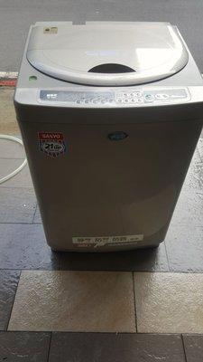 三洋13公斤七成新定頻洗衣機3800