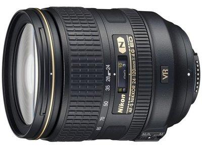 【eWhat億華】Nikon AF-S NIKKOR 24-120mm F4 G ED VR 全幅可用旅遊鏡 平輸 拆盒裸裝 現貨【1】