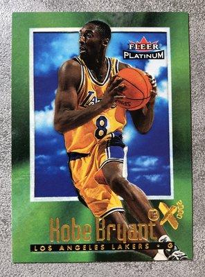 2001-02 Fleer Kobe Bryant RC Reprint #16 1996-97 EX-2000 籃球卡