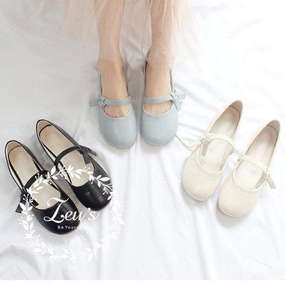 【ZEU'S】熱銷新款一字扣平底鞋『 04219402 』【現+預】DA
