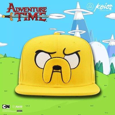 James room#KEIOS veil x ADVENTURE TIME 探險活寶老皮聯名授權黃色棒球帽
