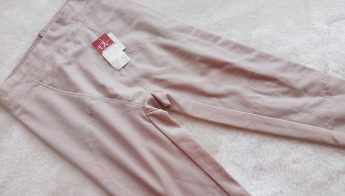 *JOLINNA~SHOP*日本華歌爾WING~~纖腿塑腹長型束褲~褐膚色無痕束褲~M號~直購990元~