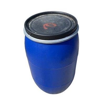藍色二手120L塑膠桶~萬用、廚餘、儲水、發酵桶