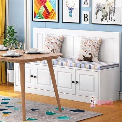 儲物沙發 實木卡座沙發家用美新款式儲物櫃餐桌小戶型卡新座餐廳L型轉角卡座定製TAP-004