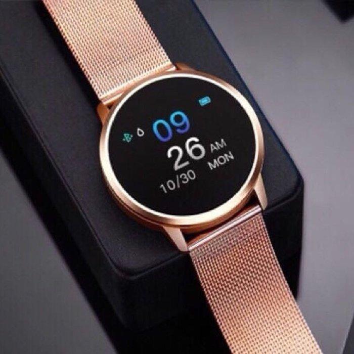 手錶 手環 鋼織錶帶 智慧手環 IP67防水