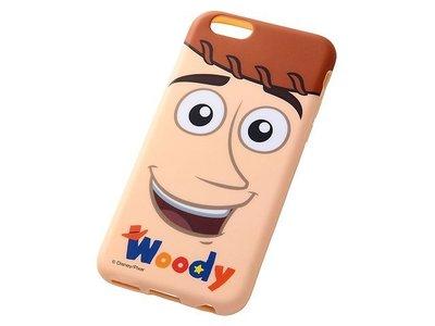 尼德斯Nydus~* 日本 迪士尼 玩具總動員 胡迪 Woody 軟殼 手機殼 大臉款 4.7吋 iPhone6