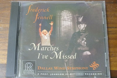 Reference recordings-Fennell Marches I've Missed-美版,有IFPI