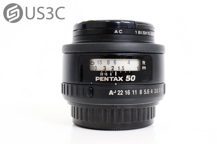 【US3C】賓得士 Pentax SMC FA 50mm F1.4 大光圈 全片幅 標準定焦 人像鏡 附保護鏡
