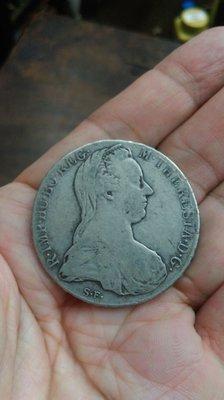 大草原典藏,奧地利大奶媽1780古純銀幣,