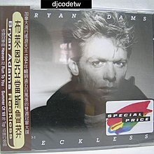 【djcodetw-CD】L1 Bryan Adams-魯莽 (全新)