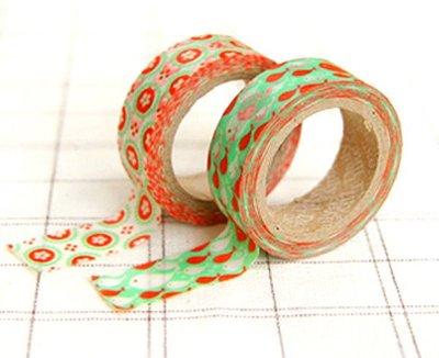 *YOOWOO*A【韓國空運 Decorate YOUR item 多功能裝飾 15mm 和紙膠帶 貼紙 ~ Judy 茱蒂】一組2入
