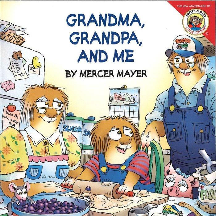 *小貝比的家*GRANDMA GRANDPA & ME/平裝/3-6歲(母親節)