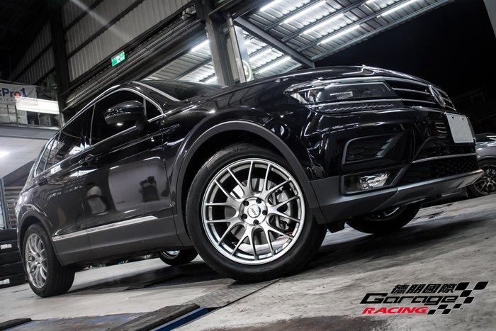 德朋國際 / ㊣ RAYS G27  輕量化 單片鍛造 日本原裝 Volkswagen NewTiguan實裝