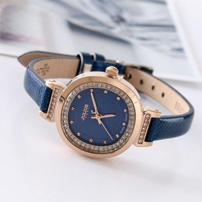 手錶聚利時女表簡約韓國風百搭學生鑲鉆女士手表女時尚大氣復古石英表