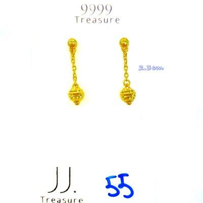 金長成銀樓@純金耳環:0.55錢黃金耳環/有實體門市可鑑賞 pure gold || Earring