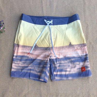 貨真價平 TU700 SPEEDO 速乾薄款 海灘褲 衝浪褲 沙灘褲 微彈  防潑水 34#36 短款