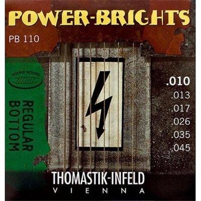【老羊樂器店】Thomastik Infeld 奧地利手工 電吉他弦 Power Brights PB110
