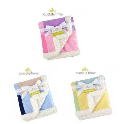 美國Cuddle time-多功能寶寶攜帶毯(粉紅/粉藍/粉黃)拼貼毯