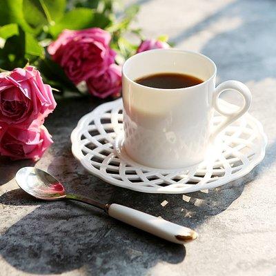 那些時光 陶瓷咖啡杯套裝歐式骨瓷下午茶杯碟紅茶杯花茶杯子茶具