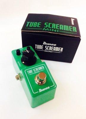 立昇樂器 IBANEZ TUBE SCREAMER MINI TS MINI TS 808 破音效果器